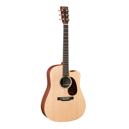 Martin X Series DCX1AE Dreadnought Cutaway Acoustic Guitar with Pick Up Front