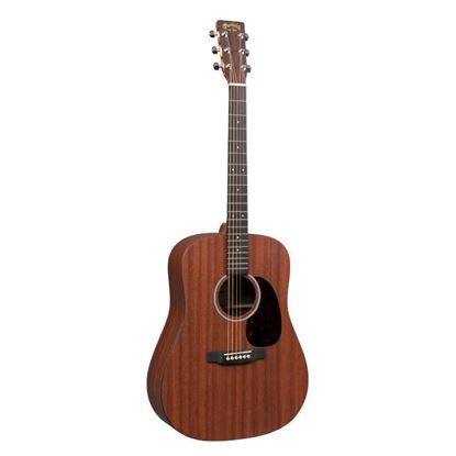 Martin DX2MAE X Series Dreadnought Mahogany Acoustic Guitar with Pickup Front