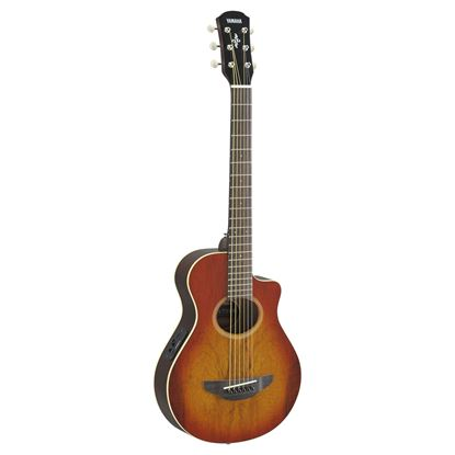 Yamaha APXT2EW-LAB 3/4 Acoustic Guitar Exotic Wood Light Amber Burst