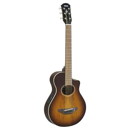 Yamaha APXT2EW-TBS 3/4 Acoustic Guitar Exotic Wood Tobacco Brown Sunburst