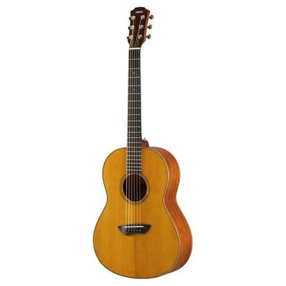 Yamaha CSF3M Folk Acoustic Electric Guitar Solid Mahogany Back and Sides - Vintage Natural