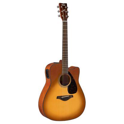 Yamaha FGX800CSDB Acoustic Guitar Sand Burst