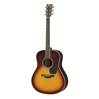 Yamaha LL6-BS//ARE Acoustic Guitar Brown Sunburst