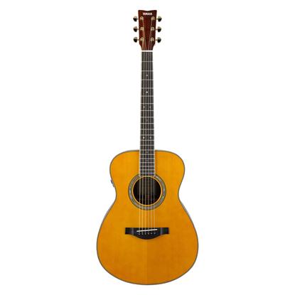 Yamaha LS-TA TransAcoustic Acoustic Guitar Vintage Tint Concert (LSTA LL16TAVTARE) - Front