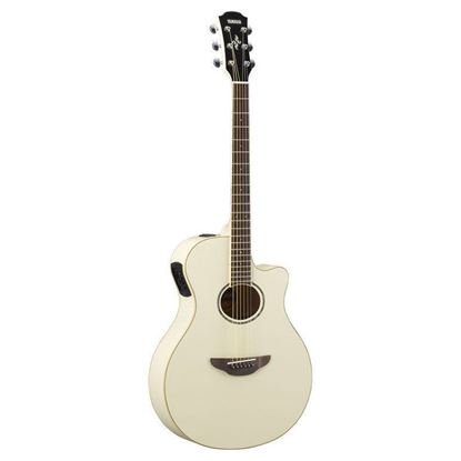Yamaha APX600 Acoustic Guitar Vintage White (APX600VW)