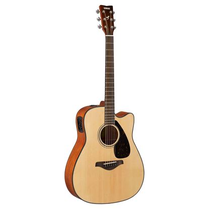 Yamaha FGX800CNT Acoustic Guitar Natural