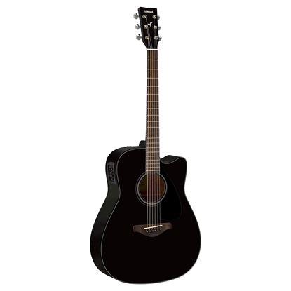 Yamaha FGX800CBL Acoustic Guitar Black