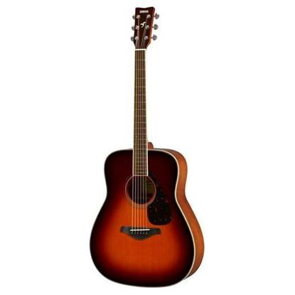 Yamaha FG820BS Acoustic Guitar Brown Sunburst