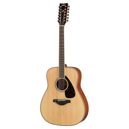 Yamaha FG820NT-12 Acoustic 12-String Guitar Natural