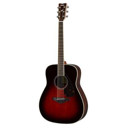 Yamaha FG830TBS Acoustic Guitar Tobacco Brown Sunburst
