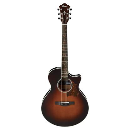 Ibanez AE205 Acoustic Guitar - Brown Sunburst High Gloss