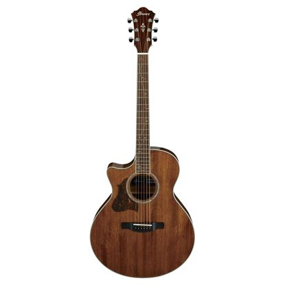 Ibanez AE245L Acoustic Guitar Left Handed - Natural High Gloss