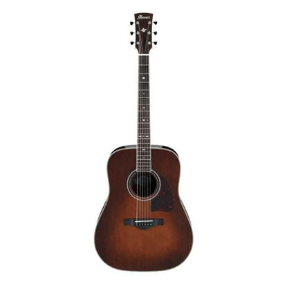 Ibanez AVD10 Artwood Vintage Parlour Thermo Aged Acoustic Guitar Full View