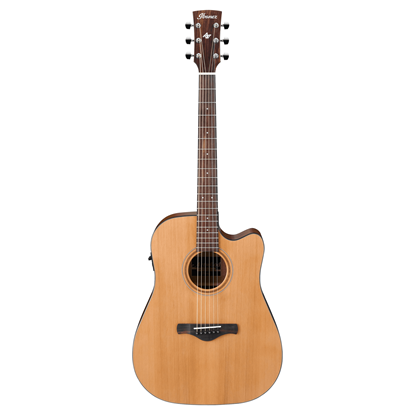 Ibanez AW65ECE Artwood Deadnought Low Gloss Acoustic Guitar Full View