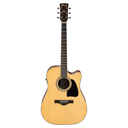 Ibanez AW70ECE Artwood Deadnought Acoustic Guitar Full View