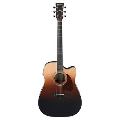 Ibanez AW80CE Acoustic Guitar - Brown Ale Gradation