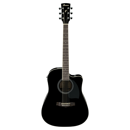 Ibanez PF15ECE Acoustic Guitar Full View
