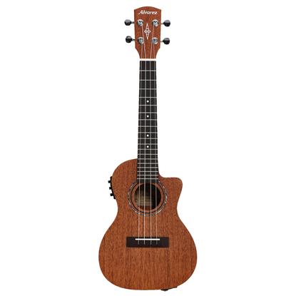 Alvarez Regent RU22CCE Concert Ukulele Acoustic/Electric w Cutaway - Front