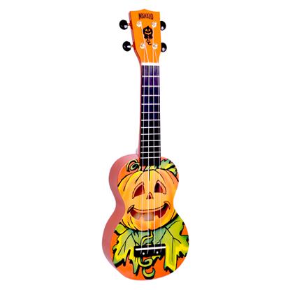 Mahalo Art Series Halloween Pumpkin Soprano Ukulele