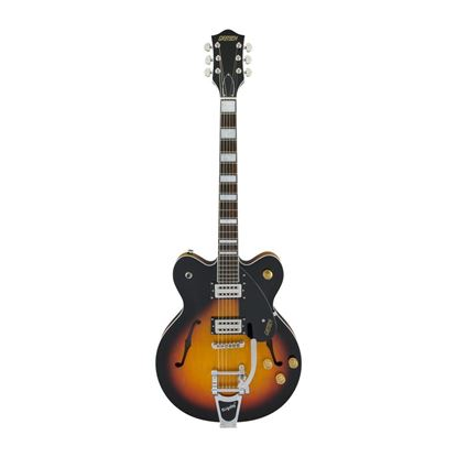 Gretsch G2622T Streamliner Center Block Electric Guitar with Bigsby - Aged Brooklyn Burst - Front