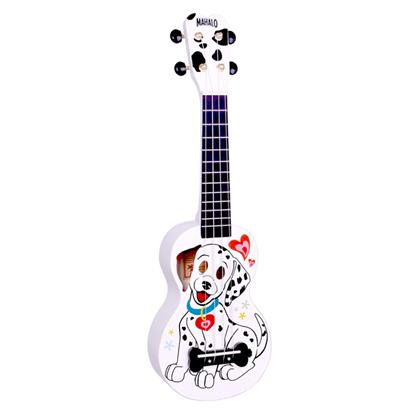 Mahalo Art Series Dalmatian Soprano Ukulele