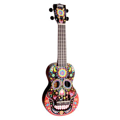 Mahalo Art Series Skull Soprano Ukulele