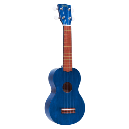 Mahalo M1 Kahiko K Series Ukulele - Transparent Blue