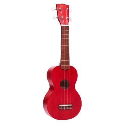 Mahalo M1 Kahiko K Series Ukulele - Transparent Red