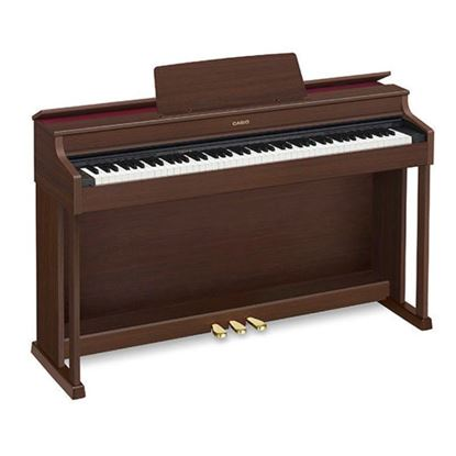 Casio AP470BN Celviano Digital Piano with Piano Bench - Brown