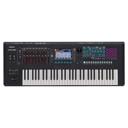 Roland FANTOM-6 Synth Workstation Keyboard - Top