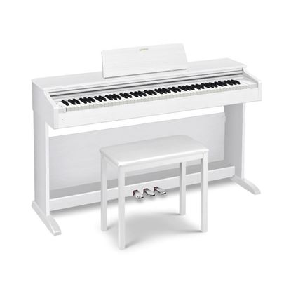Casio AP-270 Celviano Digital Piano (White with Seat) AP270WE