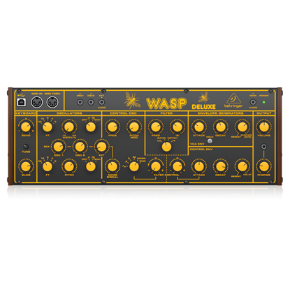 Behringer Wasp Deluxe Synthesizer - Top