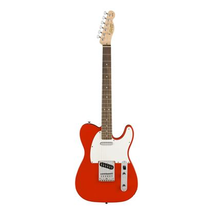 Squier Affinity Telecaster Electric Guitar LRL Race Red - Front