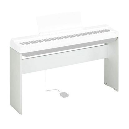 Yamaha L125WH Keyboard Stand for Yamaha P-125 Portable Digital Piano White