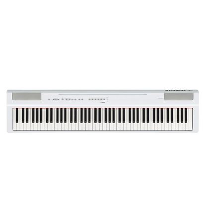 Yamaha P-125 Digital Piano White (P125WH) Front View