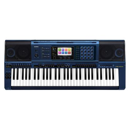 Casio MZ-X500 Keyboard with Arranger and Sample Pads 61 Keys (MZX500)