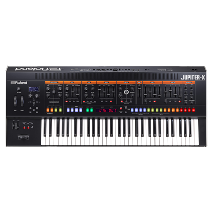 Roland Jupiter-X 61-Key Synthesizer - Top