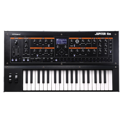 Roland Jupiter-Xm Compact 37-Key Synthesizer - Top