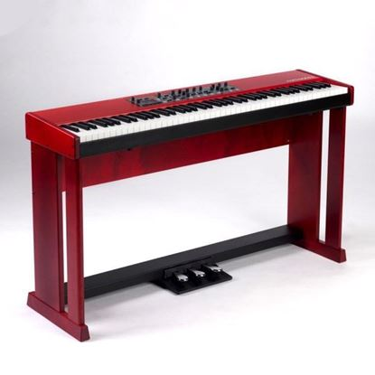 Nord Wood Piano Stand for Nord Pianos and Nord Stage 2- Red