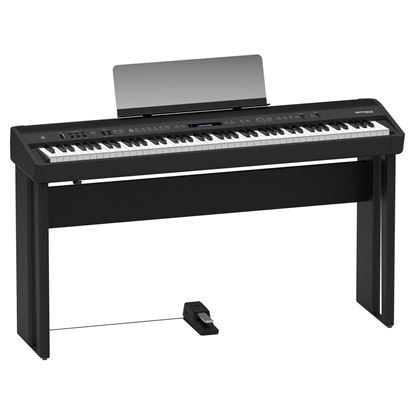 Roland FP-90 Digital Piano with Stand, Pedals and Seat - Black (FP90)