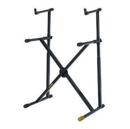 Hercules KS210B Keyboard Stand (Dual Tier, Double Braced)