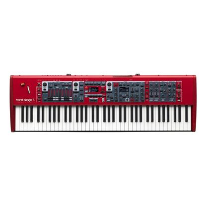 Nord Stage 3 HP76 Keyboard 76-Key Hammer Action Portable
