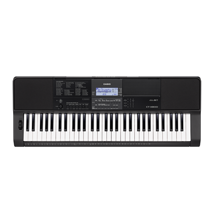 Casio CT-X800 Keyboard 61-Keys with AIX Sound Source (CTX800)