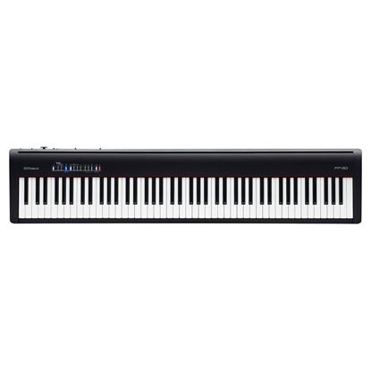 Roland FP-30 Digital Piano, Black (FP30)