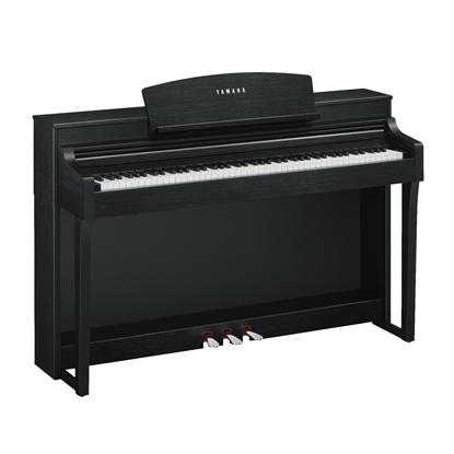 Yamaha CSP150B Clavinova Digital Piano with Bench (Black) - Left