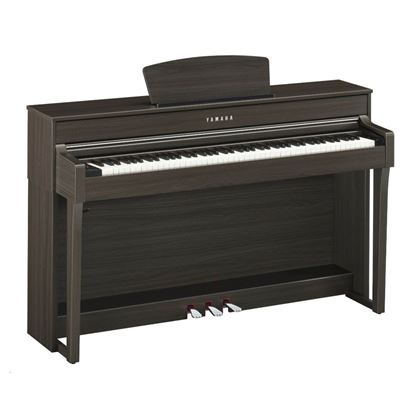 Yamaha CLP635DW Clavinova Digital Piano with Seat - Dark Walnut