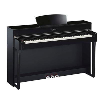 Yamaha CLP635PE Clavinova Digital Piano with Seat - Polished Ebony