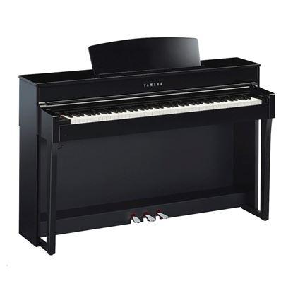 Yamaha CLP645PE Clavinova Digital Piano with Seat - Polished Ebony