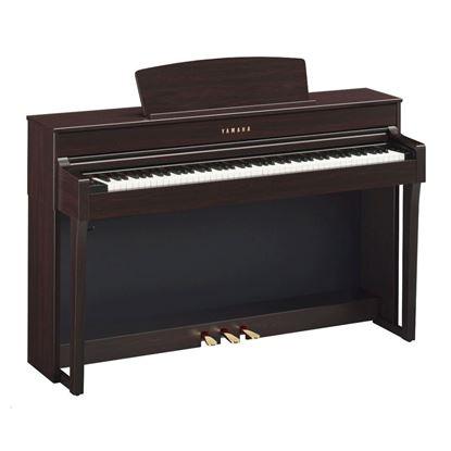 Yamaha CLP645R Clavinova Digital Piano with Seat - Rosewood
