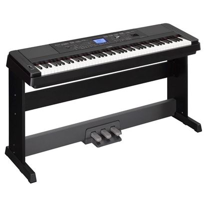 Yamaha DGX-660 Portable Digital Grand Piano Black with BONUS LP7A Pedal Unit (DGX660)
